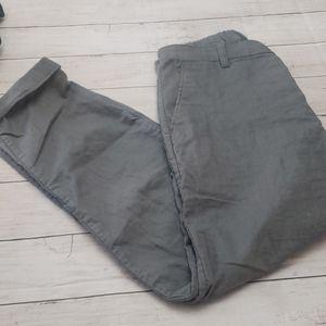 Uniqlo  gray linen/ cotton pants size24